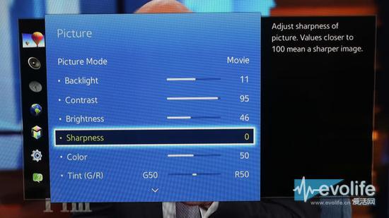 电视机锐化功能会让画面更糟