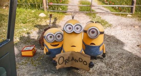 《小黄人》刷新国内动画电影票房纪录 首日过亿