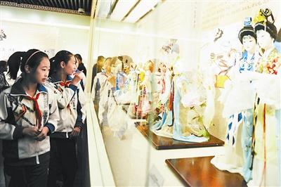 北京市首家校园内非遗博物馆揭牌