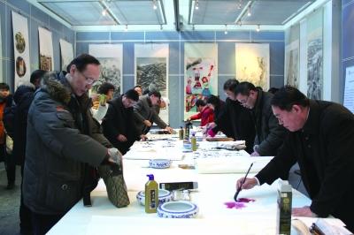 北京群众艺术馆成立60周年 作品巡展开幕