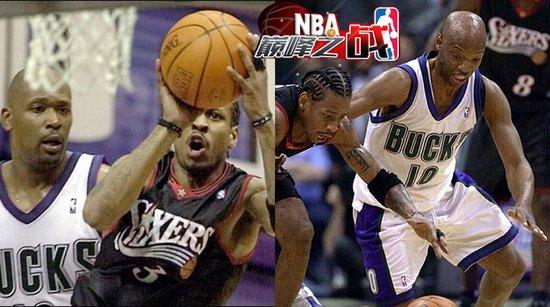 NBA巅峰战之雄鹿 阿伦砍41分对飙艾弗森46分