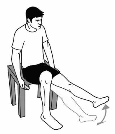 专家推荐抗久坐运动看电视手脚别闲着