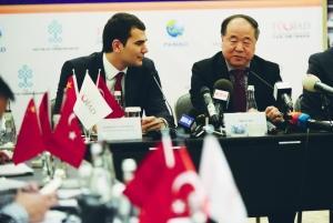 莫言:中国与土耳其应开展更深层次文化交流