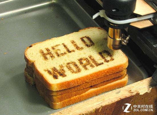 3D打印食品端上餐桌 你敢吃吗?